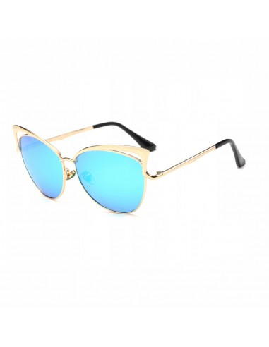 Niebieskie okulary przeciwsłoneczne ASPEZO Hollywood