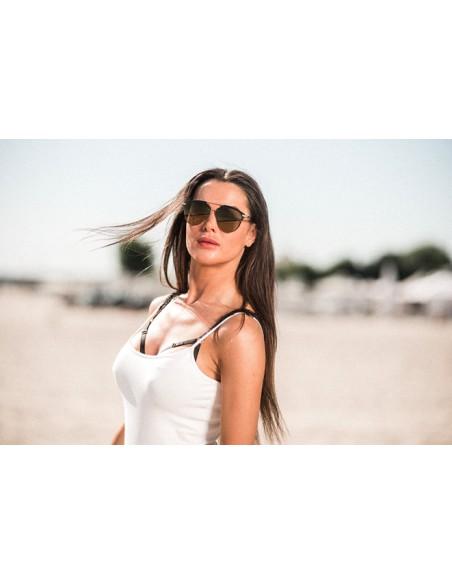 Damskie okulary przeciwsłoneczne polaryzacja ASPEZO Manila