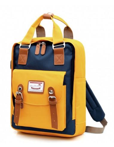 Modny plecak szkolny młodzieżowy w...