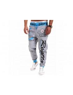 Męskie spodnie dresowe z...