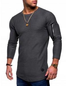 Modna bluza męska bluza na...