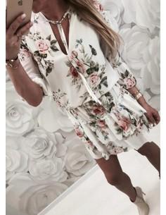 Modna zwiewna sukienka...