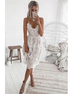 Elegancka letnia sukienka z...