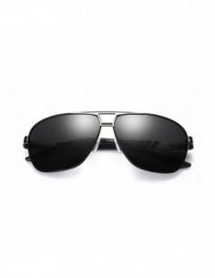 Męskie okulary przeciwsłoneczne aviatory ASPEZO Florida